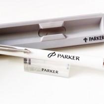 caneta-parker-vector-branca-sem-carga-nova-original-2